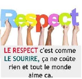 SOYEZ RESPECT